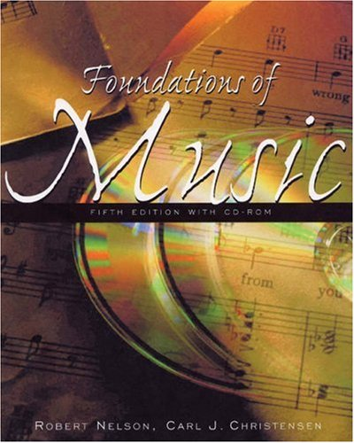 9780534600037: Foundations of Music: A Computer-Assisted Introduction (with CD-ROM)