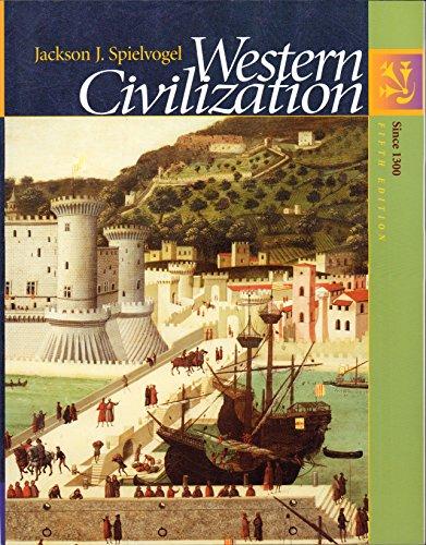 9780534600105: Western Civilization: Since 1300 (with InfoTrac) (Chapters 11-29)
