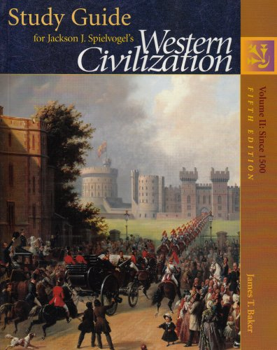 9780534600129: Study Guide for Western Civilization, Vol. 2: Since 1500