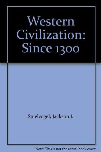 9780534600228: Western Civilization: Since 1300