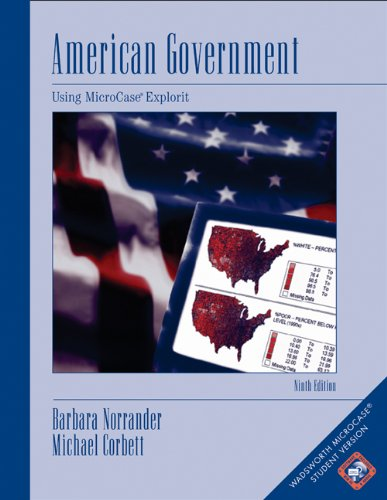 9780534602314: American Government: Using MicroCase ExplorIt