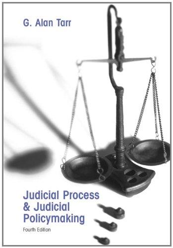 9780534602437: Judicial Process and Judicial Policymaking