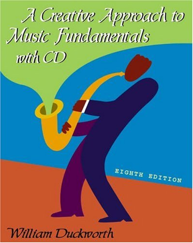9780534603458: A Creative Approach to Music Fundamentals (with CD-ROM)