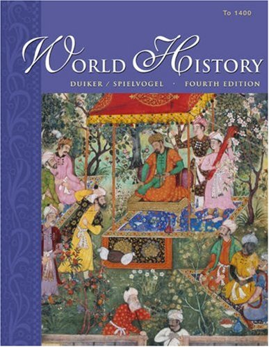World History: To 1400 (without info trac) (9780534603663) by William J. Duiker; Jackson J. Spielvogel