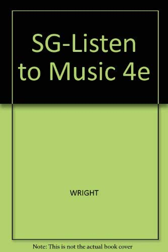 Listening to Music: Craig Wright