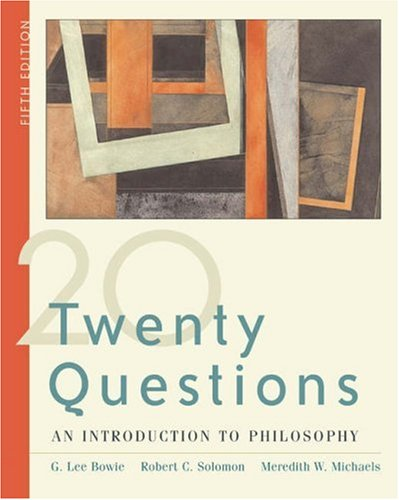 9780534604899: Twenty Questions: An Introduction to Philosophy