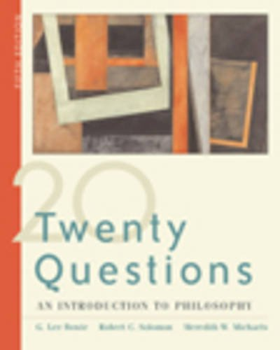 9780534604905: Twenty Questions: An Introduction to Philosophy