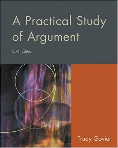 9780534605254: A Practical Study of Argument