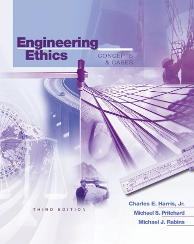 engineer ethics and case Engineering ethics case study: the challenger disaster course number: e - 1142 300 pdh instructor: dr mark p rossow, phd, pe retired suggested for: all types of.