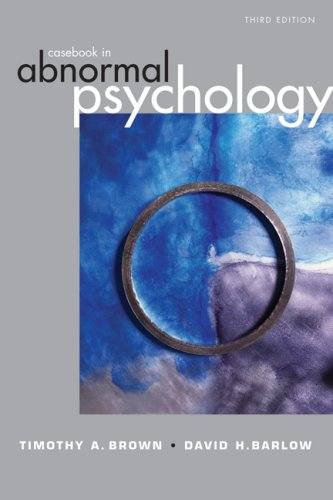 9780534605865: Casebook Abnormal Psychology