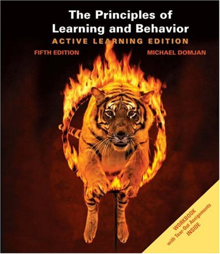 9780534605902: The Principles of Learning and Behavior: Active Learning Edition (with Workbook)