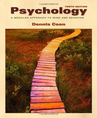 9780534605933: Psychology: A Modular Approach to Mind and Behavior (Available Titles CengageNOW)