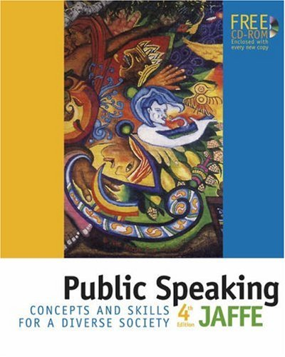 9780534606510: Public Speaking: Concepts and Skills for a Diverse Society (with CD-ROM and InfoTrac)