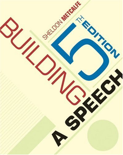 9780534606602: Building a Speech With Infotrac