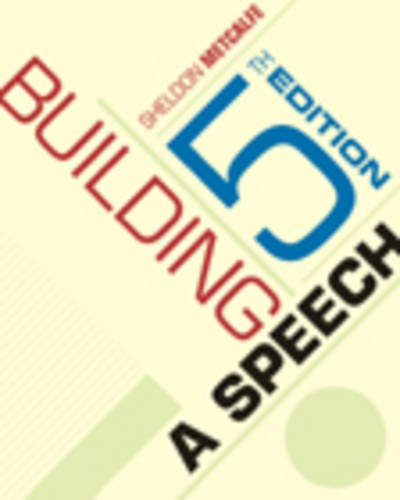 9780534606619: Building a Speech