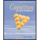 Study Guide for Reed's Cognition: Theory and Applications: Buyer, Linda S.
