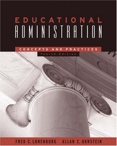 9780534608828: Educational Administration: Concepts and Practices