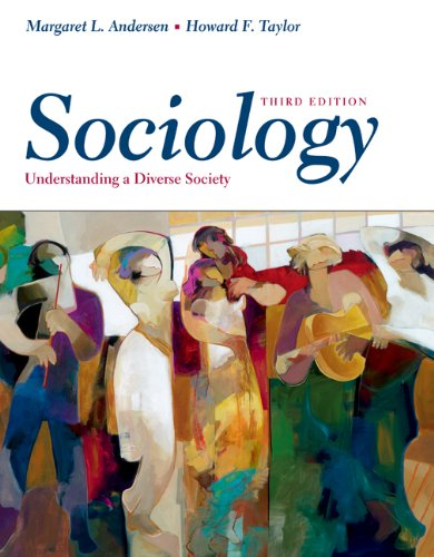 9780534609122: Sociology: Understanding A Diverse Society (with CD-ROM and InfoTrac)
