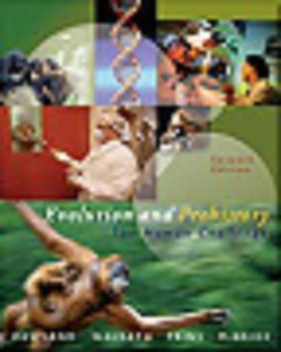9780534610166: Evolution and Prehistory: The Human Challenge (with InfoTrac)