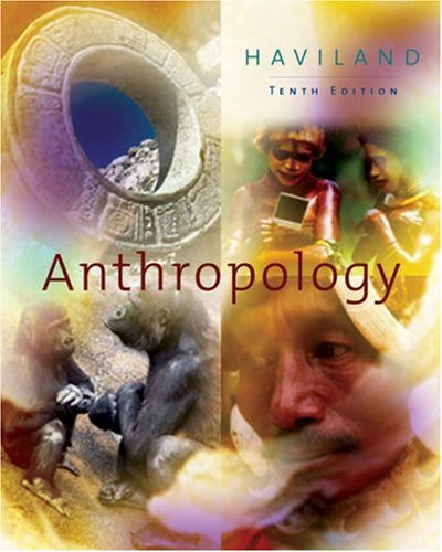9780534610203: Anthropology (Earthwatch with InfoTrac and CD-ROM)