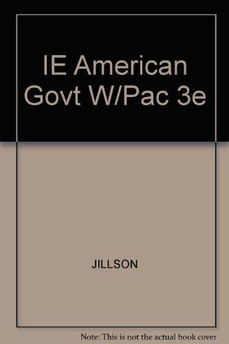 9780534610548: IE American Govt W/Pac 3e