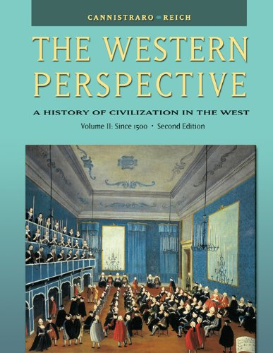 9780534610678: The Western Perspective: A History of Civilization in the West (with InfoTrac®) Volume 2: The Renaissance to the Present