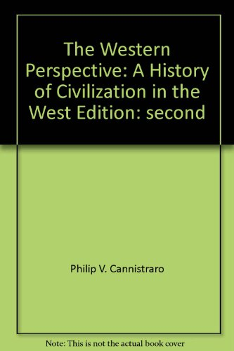 9780534611125: Western Perspective : A History of Civilization in the West