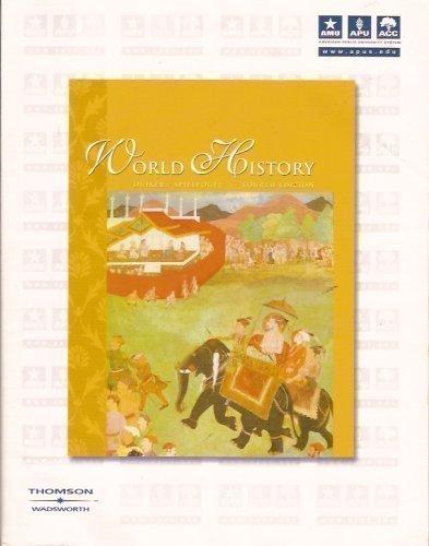 9780534612139: World History (Comprehensive Volume)