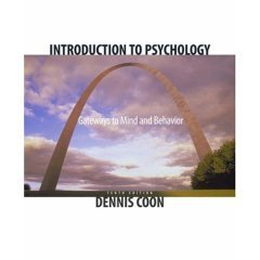 9780534612290: Introduction to Psychology : Gateways to Mind and Behavior; INSTRUCTOR'S Edition