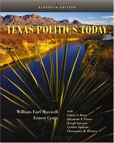 9780534612542: Texas Politics Today (with InfoTrac)
