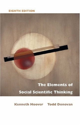 9780534614119: The Elements of Social Scientific Thinking