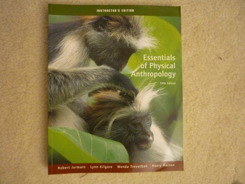 9780534614362: Essentials of Physical Anthropology