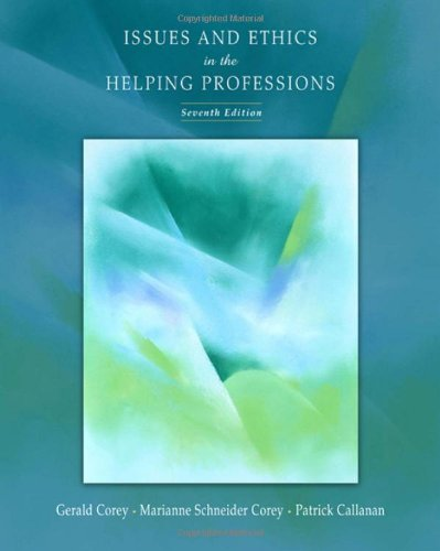 9780534614430: Issues and Ethics in the Helping Professions (Available Titles CengageNOW)