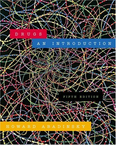 9780534615154: Drugs: An Introduction
