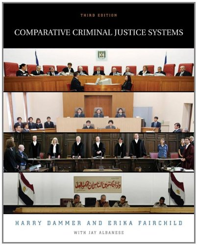 9780534615420: Comparative Criminal Justice Systems