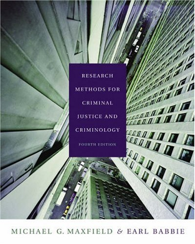 Research Methods for Criminal Justice and Criminology (with CD-ROM and InfoTrac) (Available Title...