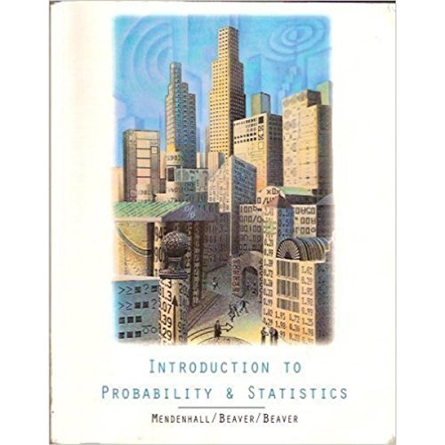 9780534615949: Introduction to Probability and Statistics