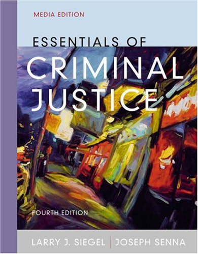 9780534616410: Essentials of Criminal Justice (with InfoTrac) (Available Titles CengageNOW)