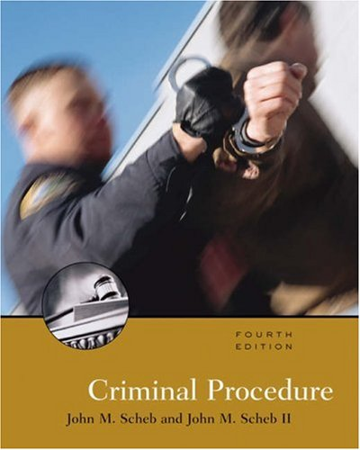 9780534616618: Criminal Procedure