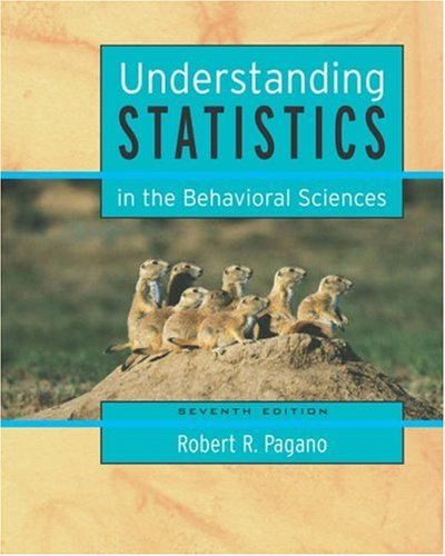 9780534617677: Understanding Statistics in the Behavioral Sciences (with CD-ROM and InfoTrac) (Available Titles CengageNOW)