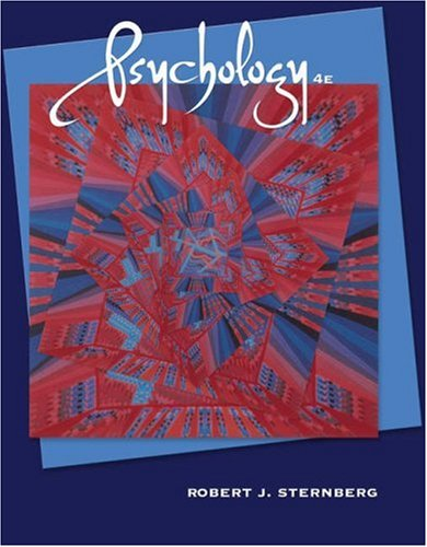 Psychology (with CD-ROM and InfoTrac ): Robert J. Sternberg