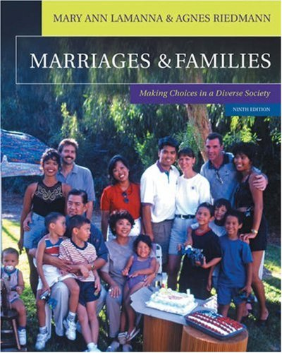 9780534618599: Marriages & Families: Making Choices in a Diverse Society (with InfoTrac®)