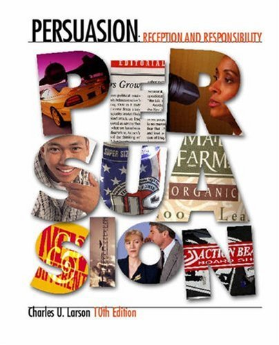 9780534619022: Persuasion: Reception and Responsibility (with InfoTrac)