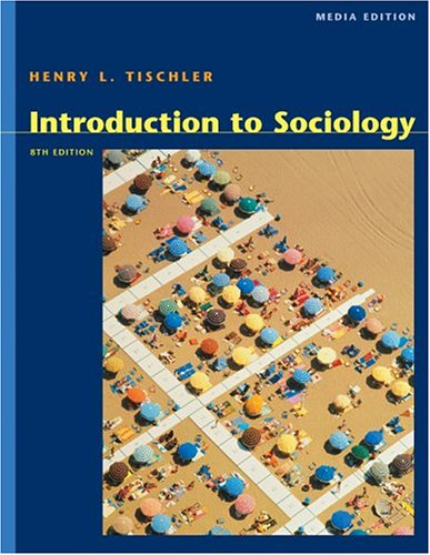 9780534619923: Cengage Advantage Books: Introduction to Sociology, Media Edition (with InfoTrac)