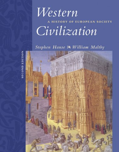 9780534621186: Western Civilization: A History of European Society (with CD-ROM)