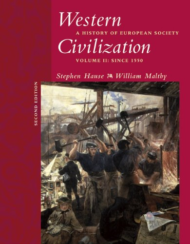 9780534621223: 2: Western Civilization: A History of European Society, Volume II: Since 1550 (with CD-ROM)