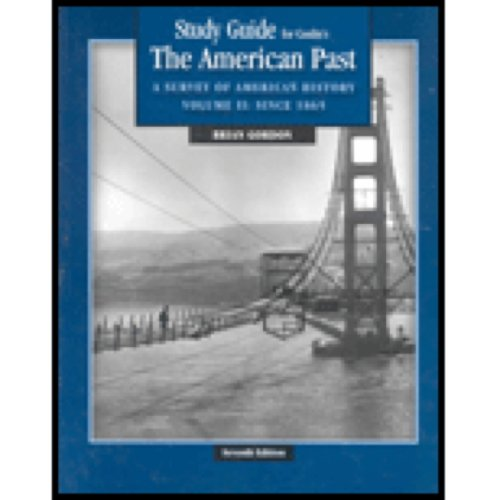 9780534621414: Study Guide for Conlin's The American Past: A Survey of American History, Vol. 2, 7th Edition