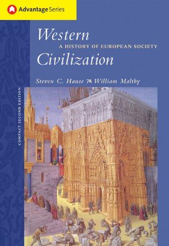 9780534621643: Cengage Advantage Books: Western Civilization: A History of European Society, Compact Edition (Advantage Series)