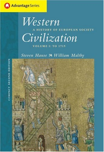 9780534621650: Western Civilization: A History Of European Society, Compact: 1