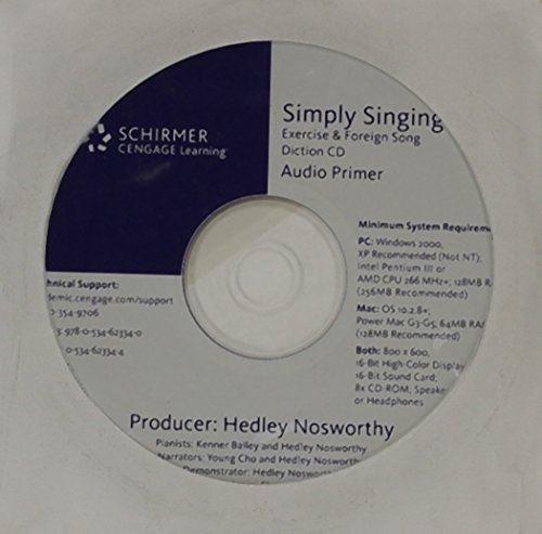 CD-ROM for Nosworthy/Summers' Simply Singing: Nosworthy, Hedley; Summers, Peter
